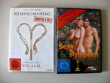 Nymphomaniac Vol. 1 & 2 DVD Directors Cut + Sex Nymphen, 2 Erotikfilme, topp !