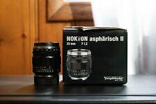New listing voigtlander 35mm f1.2 leica m mount