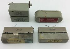 RCA MECHANICAL FILTER + BLILEY CRYSTAL BAND PASS Vintage HAM RADIO Estate Lot