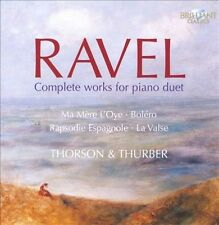 Ravel: Complete Works for Piano Duet, New Music