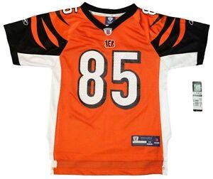 Youth Sized NFL Cincinnati Bengals Chad OchoCinco # 85 Throwback Football Jersey