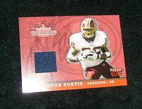 2005 Washington Redskins Clinton Portis Football Jersey Trading Card #TK-CP