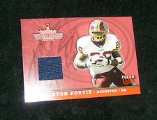 2005 Washington Redskins Clinton Portis Football Jersey Trading Card #TK-CP