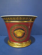 Rosenthal Versace Medusa (Red) Champagne Ice Bucket Excellent