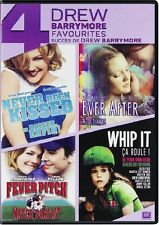 NEVER BEEN KISSED + EVER AFTER + WHIP IT + FEVER PITCH *DVD SET*