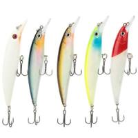 Luminous Fishing Lures Floating Hard Baits Strengthen Treble Hook Fishing Tackle