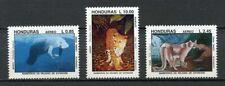 25095) HONDURAS 1993 MNH** Nuovi** Endangered Species  3v
