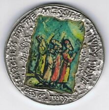 Israel 1986 Everlasting Love by Moshe Castel State Medal 50mm 62g Silver + COA