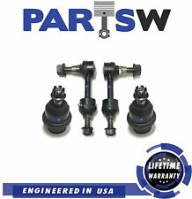 4 Pc Suspension Kit for Ford F-150 2004 2005 RWD Lower Ball Joints / Sway Bars