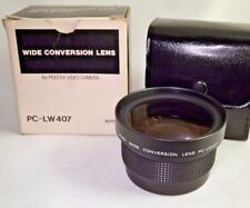 49mm 52mm Wide Angle Video Conversion AUX Lens PC-LW407 for Pentax camcorders
