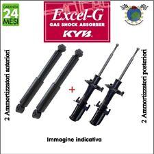 Kit ammortizzatori ant+post Kyb EXCEL-G CITROEN C-ELYSEE PEUGEOT 301