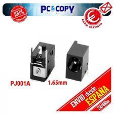 CONECTOR PORTATIL DC POWER JACK PJ001A-1.65mm Acer Travelmate: 6460