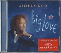 SIMPLY RED / BIG LOVE * NEW CD 2015 * NEU *