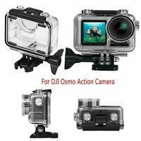 For DJI Osmo Action Sports Camera 40m Waterproof Housing Case Shell + Adapter