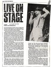 Scheck4p20 Live on stage article & Picture- Genesis - nec birmingham