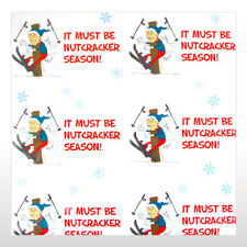 Funny Holiday Season Wrapping paper to the BALLS - NUTCRACKER