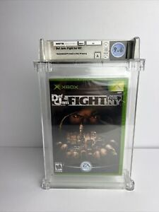 Microsoft Xbox Def Jam Fight For NY Factory Sealed Graded WATA 9.6 A Brand New