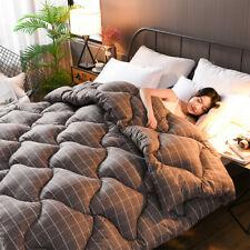 3D Luxury Goose Down Duvet Quilt Quilt Extra Large Queen Full Size Quilt Winter