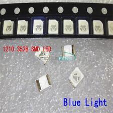 100PCS 3528 Blue 1210 PLCC-2 LED BULB LAMP Power TOP SMD SMT Light Chip