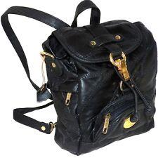 Neve Paris Patchwork Convertible Crossbody Messenger Bag Organizer Mini Backpack