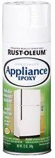 12 oz. White Spray Paint Waterproof White Appliance Epoxy Gloss Finish (6-Pack)