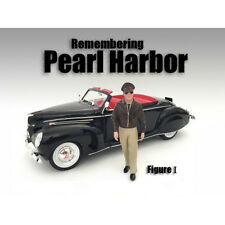 REMEMBERING PEARL HARBOR FIGURE I FOR 1:18 SCALE MODEL BY AMERICAN DIORAMA 77422