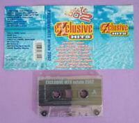 MC Musicassetta Compilation EXCLUSIVE HITS Estate 2002 nomadi incubus no cd lp