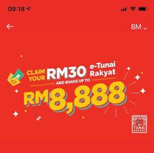 Boost App Referral Code - Get RM30 Free E-tunai Rakyat