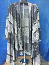 HAANI WOMAN Cape Cloak Poncho Shawl ASIAN BAMBOO Wrap Bolero Shrug Sz 2X ❤️b1
