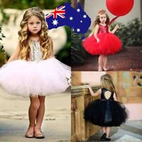 Children Girl Dress Toddlr Baby Princess Wedding Heart Sequin Tutu Gown for Kids
