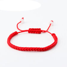 2X Lucky Red Rope Beads Kabbalah String Braided Friendship Adjustable Bracelet