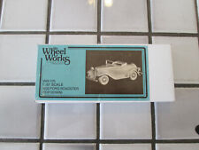 Wheel Works 1932 Ford Roadster Kit H O Scale / (metal kit)
