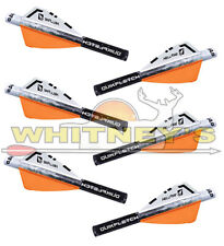 NAP New Archery Products QuickFletch Orange Hellfire 2 In Vanes