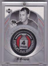 Gordie Howe 03/04 UD Trilogy Crest Of Honor COH Legend Stanley Cup Variant #139