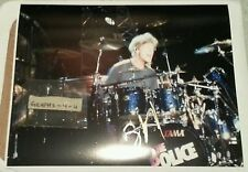 Stewart Copeland Signed The Police Autograph COA 11x14