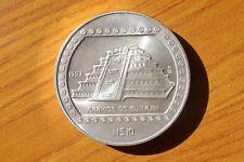MONETA MESSICO 10 DOLLARI 1993 PIRAMIDE EL TAJIN 5 ONCE ARGENTO 999 FINE SILVER