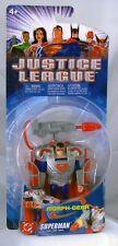 Justice League Animated Morph Gear Superman Mattel 5 inch NIP 2004 S2-S5
