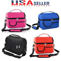 Portable Large-Capacity Lunch Bag Fresh-Keep Box Insulated Cooler Bag Waterproof