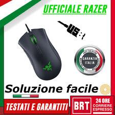 Gaming Mouse Ergonomico con Illuminazione RGB e Sensore da 16.000 dpi Tappetino da Gioco Razer DeathAdder Elite Mouse da Gioco E-Sport