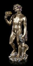 Bacchus Greek God of Wine & Festivity Cold Cast Bronze Statue By Veronese.