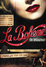 "Baz Luhrmann's ""LA BOHEME"" Alfred Boe / Joseph Jonas / Ben Davis 2002 Program"