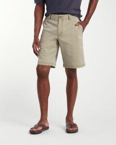 Tommy Bahama Boracay 10-Inch Chino Shorts T815546 $94.50 Khaki