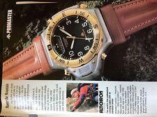 A1v ephemera 1990 advert watch citizen promaster altichrom