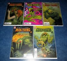MAN-THING #1 2 3 4 5 R.L. STINE goosebumps MARVEL COMIC SET 1st print NM NEW