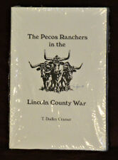 T Dudley Cramer THE PECOS RANCHERS IN THE LINCOLN COUNTY WAR pb New in Wrapper.