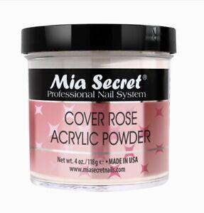 Mia Secret Cover Rose Acrylic Nail Powder 4 oz - Made in USA