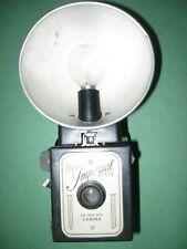 Vintage Herco Imperial 620 Snap Shot Box Camera w/ Flash Reflector