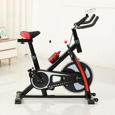 Commercial Exercise Bike Aerobic Exercise Indoor Home Fitness W/Sport Bottle