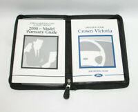 2000 Ford Crown Victoria Factory Original Owners Manual Portfolio #41