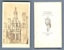 Mieusement, France, Lanterneau Central du Château de Chambord  CDV vintage album